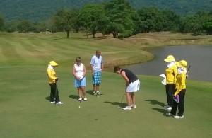 Golfiin on Thaimaassa hyvät harrastusmahdollisuudet.