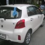 Toyota Yarikseen kiinnitetty avain voi näyttää esimerkiksi tältä.