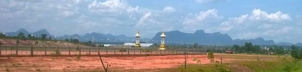 """Thaimaan ja Laosin väliltä löytyy kaikkiaan kolme """"ystävyyden siltaa"""". Friendship Bridge III sijaitsee Nakhon Phanomissa."""