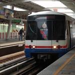 Bangkok Sky Train, eli ilmaratajuna on Voutilaisen mielestä aika epäkäytännöllinen yhteys. Hänelle.