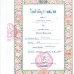 Kaikki se paperi tämän paperin vuoksi. Thaimaalainen avioliittotodistus, päivätty 29.1.2016.