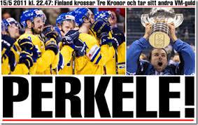 Globen 1995 ei ikinä unohdu! Kiitos Curre, Ara, Tupu, Hupu, Lupu jne. (Kuva: Aftonbladet)