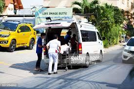Sairaalaan vietäessä uhri oli ollut vielä elossa. (kuvituskuva)