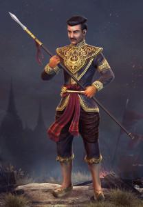 Kuningas Ramesuan ehti menettää valtansa ja kaapata sen takaisin.