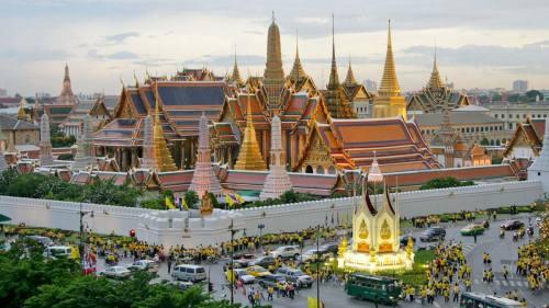 Linnoituksen jälkiä on edelleen nähtävissä Thonburin alueella.