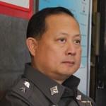 Patong Beachin nyttemmin entinen poliisipäällikkö Tassanai Orarigdech. Kuva: The Phuket News.