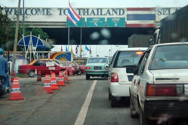 Tervetuloa Thaimaahan... ja tähän käteen, kiitos!