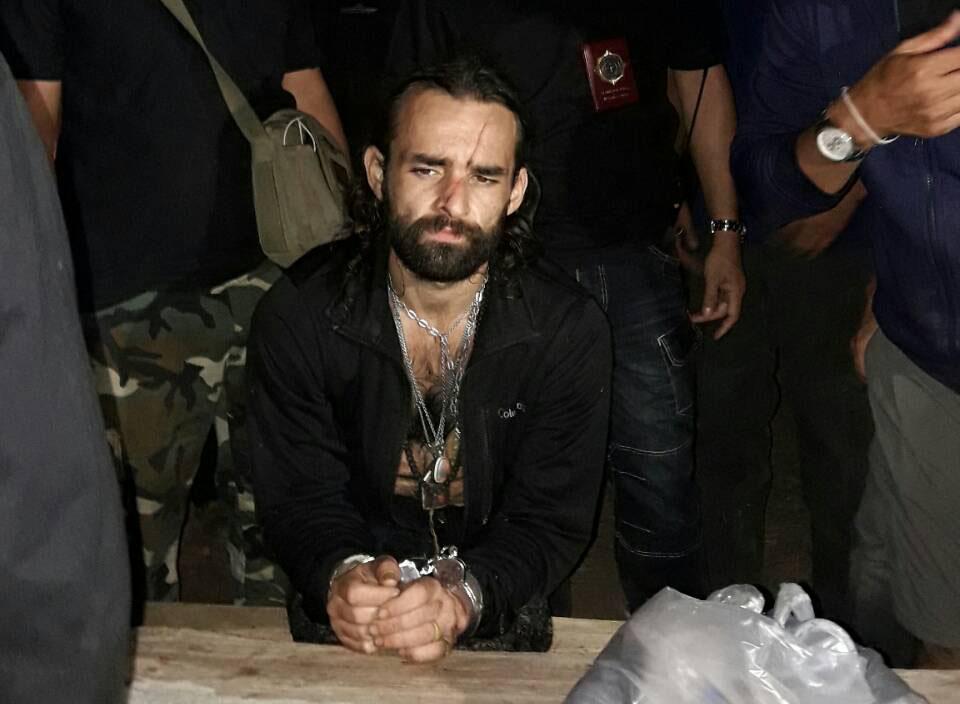 Poliisin pidättämä ranskalainen Riguard, 33.